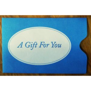 White Winter Gift Card